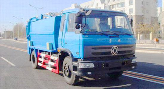 东风145对接垃圾车(12-13立方)