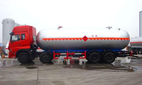 34.5立方东风天龙液化气运输车