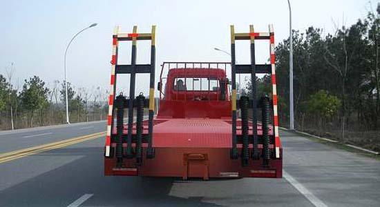 楚风小三轴平板运输车