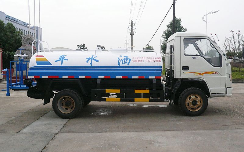 福田时代5吨洒水车