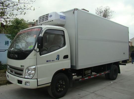 福田奥铃4米冷藏车