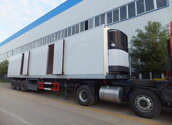 半挂13.8米大型冷藏车