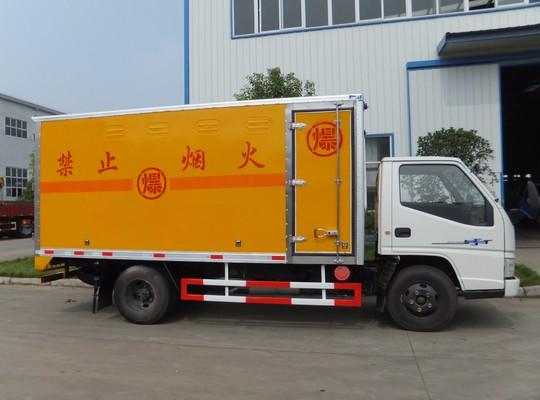江铃1.5吨爆破器材运输车