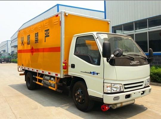 江铃3.2吨爆破器材运输车