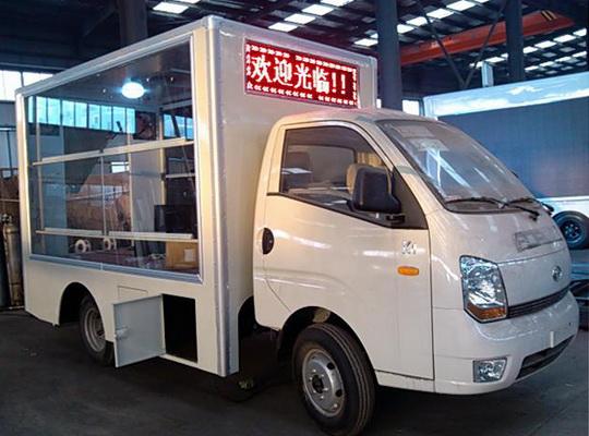 福田宝瑞4.5平米LED广告宣传车