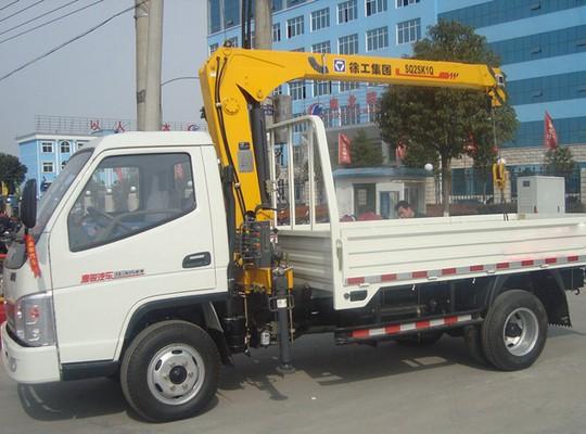 唐骏2-3.2T随车起重运输车