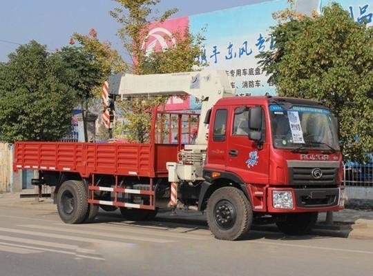 福田瑞沃6.3-8T随车起重运输车