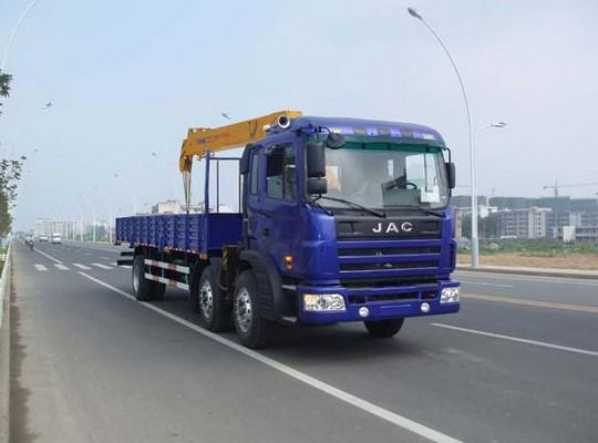 江淮格尔发8-12吨随车起重运输车