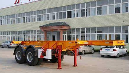 7米集装箱运输半挂车