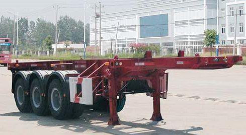 8米集装箱运输半挂车
