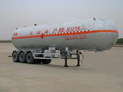 58.5立方CLW9409GYQ型液化气半挂车