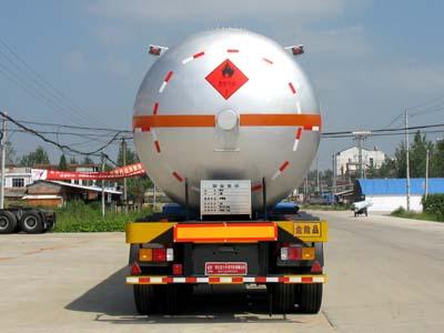 56立方异丁烷运输半挂车