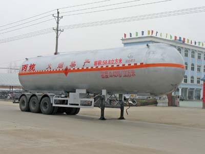 58.5立方丙烷运输半挂车