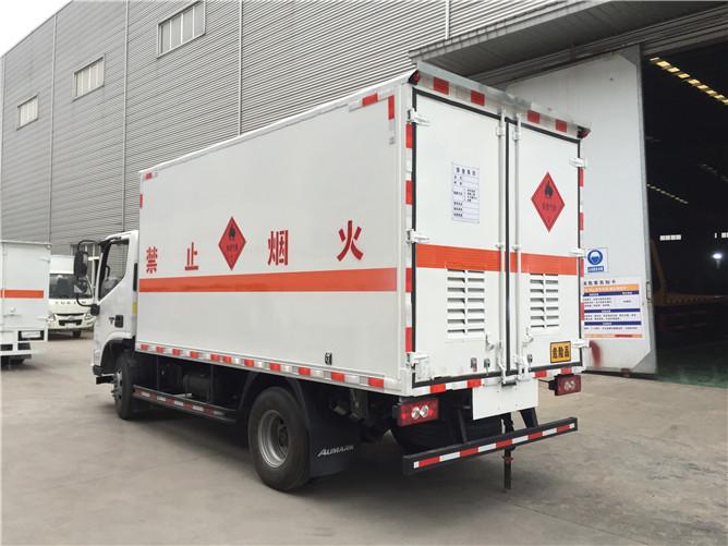 福田欧马可气瓶运输车