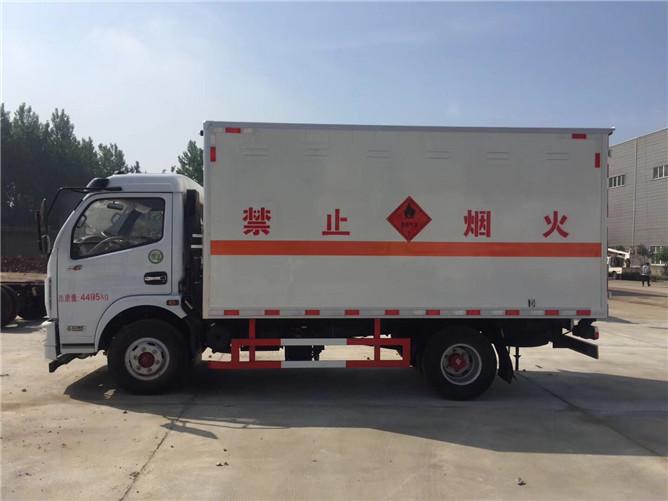东风凯普特易燃气体运输车