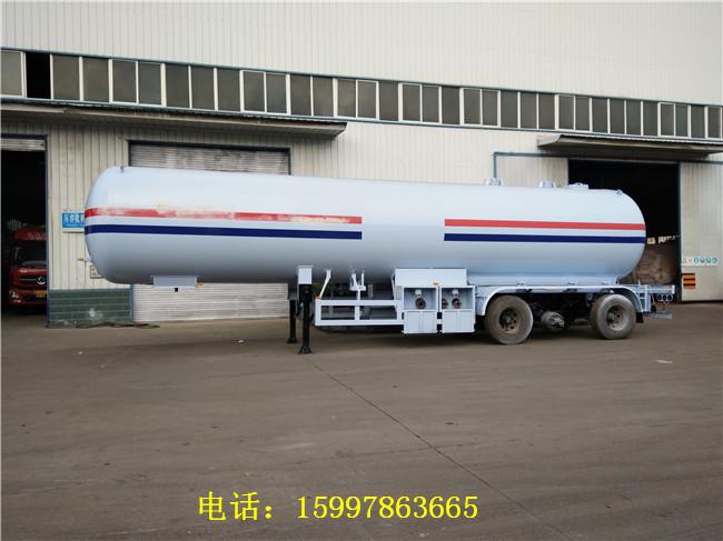 60立方液化气半挂车