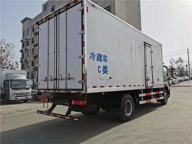福田欧马可S5冷藏车