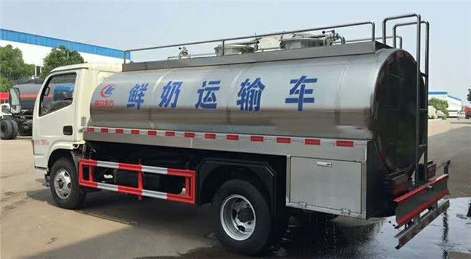 4.2立方鲜奶运输车