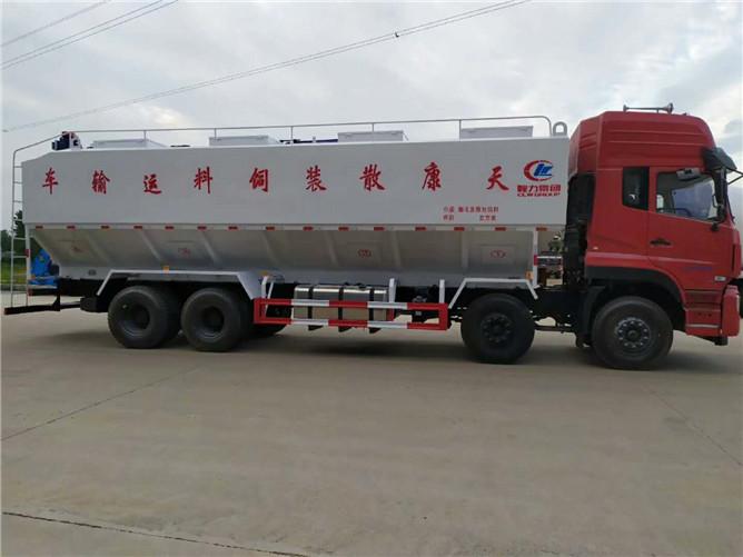 40立方散装饲料运输车